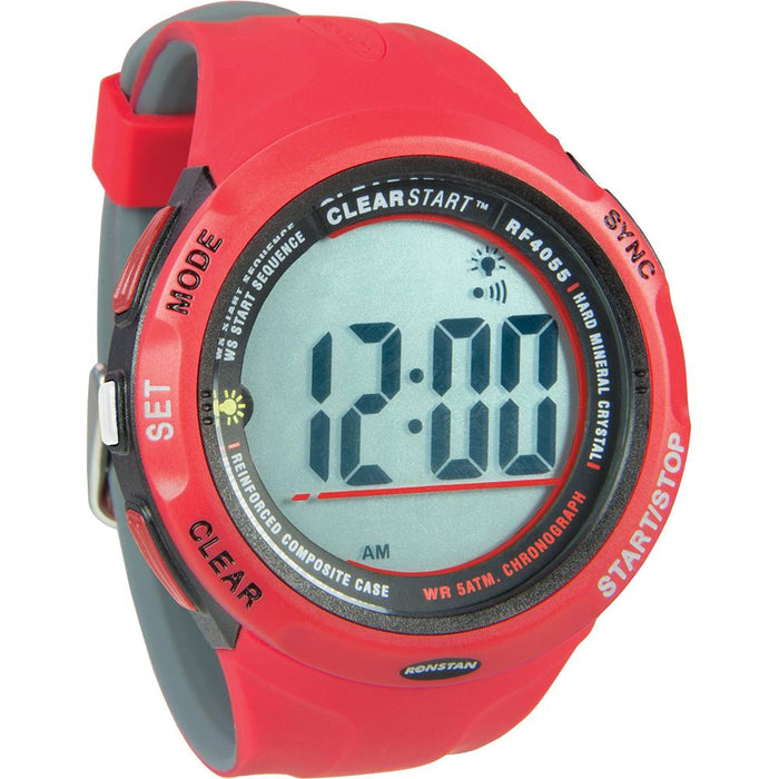 Ronstan RF4055 ClearStart 50mm Sailing Watch - Red-Grey [RF4055]