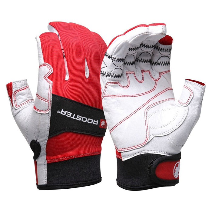 Rooster Sailing Mens Tacktile Pro Sailing Gloves 2 Finger