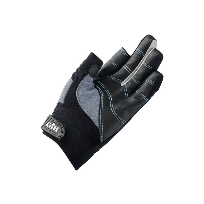 Gill Womans Championship Long Finger Sailing Gloves 2017 - Black