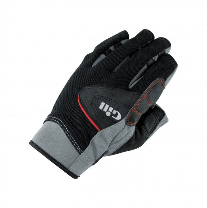 Gill Championship Short Finger Sailing Gloves 2017 - Black