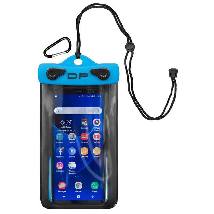 "Dry Pak Smart Phone-GPS-MP3 Case - Electric Blue - 4"" x 6"" [DP-46EB]"