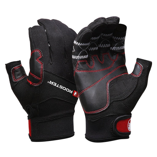 Rooster Sailing Mens Pro Sailing Race Gloves 2 Finger