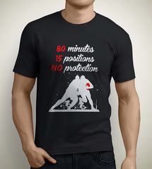 15 positions 80 minutes rugby t-shirt