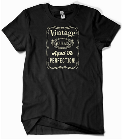 personalized age t-shirts