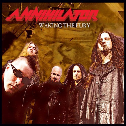 "Annihilator ""Waking the Fury"" LP"