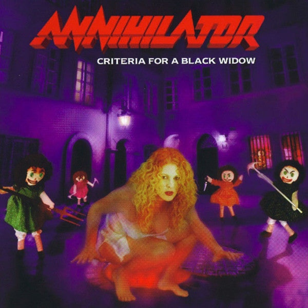 "Annihilator ""Criteria for a Black Widow"" LP"