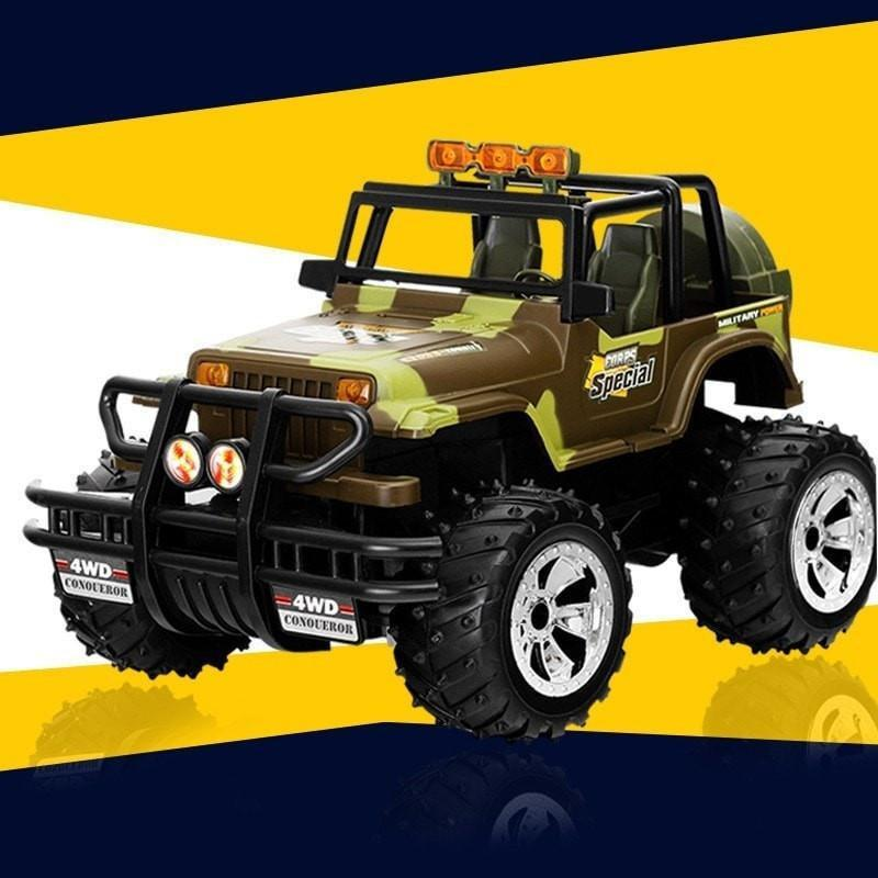 Control Remote Rock Racer Desert Off-Road Truck