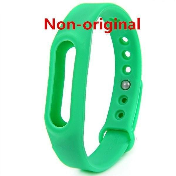 Colorful Silicone Interchangeable Band for Xiaomi Smart Bracelet