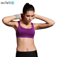 New Women Sports Bra For Running - Padded WireFree Seamless Shakeproof Push Up
