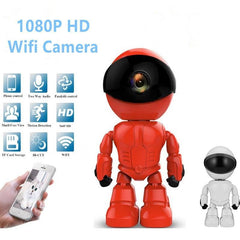 Pet Camera-Robot Pet Baby Monitor 2MP Wireless IP Camera wi-fi Robot camera Wifi Night Vision Network Camera CCTV two-way audio