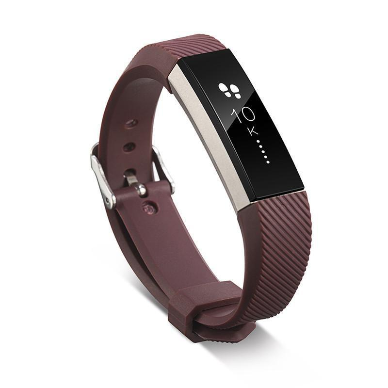 Silicone Replacement Strap  for Fitbit HR