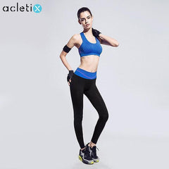 BUNDLE: Women Breathable Training Push Up Sport Bra + Legging