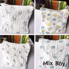 6 Layers Muslin Cotton Baby Wipe 5 Towel Set