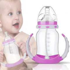 Baby Training Handle Bottle