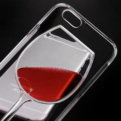 * iPhone Case* 6/6S Liquid Red Wine Glass Case