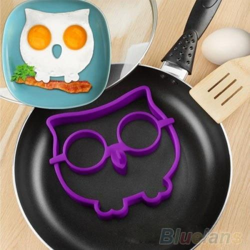 Creative Silicone Egg Molds Rabbit, Owl & Skull