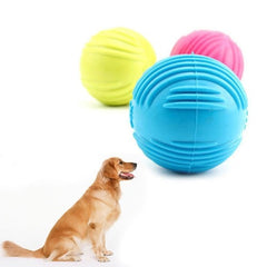 Durable Rubber Ball Training Exercise Pets Toy