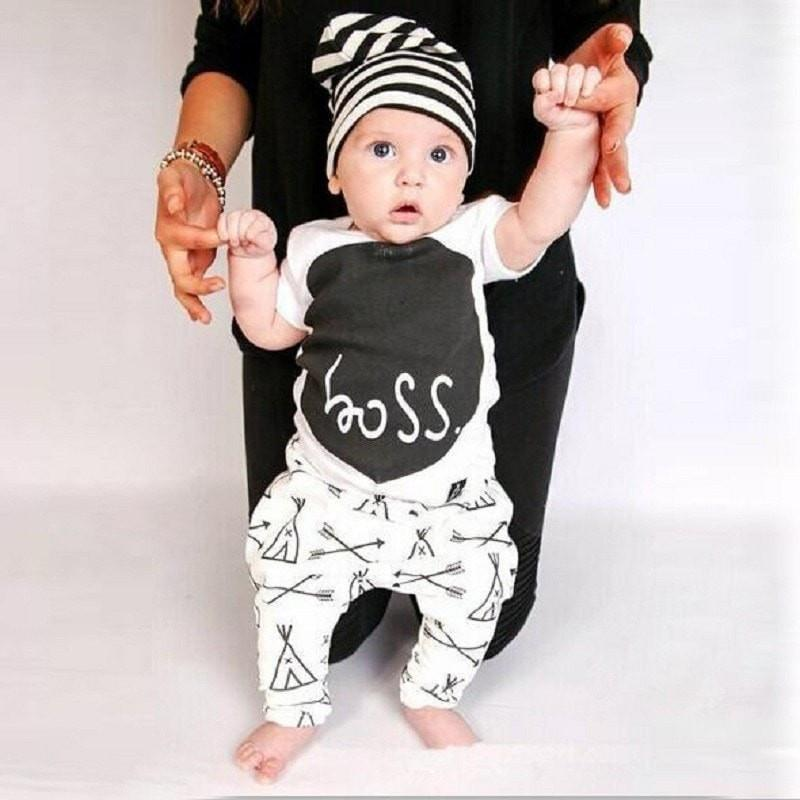 Boss Baby Boy Clothing Set