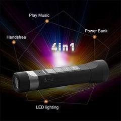 Outdoor Multi-Function Bluetooth Speaker / Flashlight / Power Bank