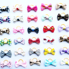 Cute Handmade Hair Bows Pet Hair Accessories