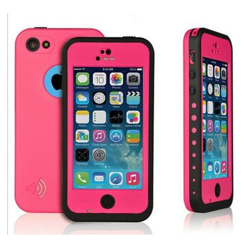 * iPhone Case*  5C  Waterproof Shockproof Dirt Proof Candy Color Case