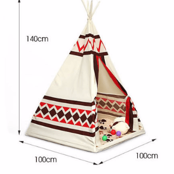 Children Indian Teepee Portable Playhouse