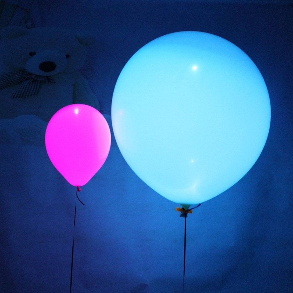 Glow In The Dark LED Flash Balloons
