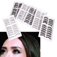 60 Pairs Fashion False Soft Eye Lash