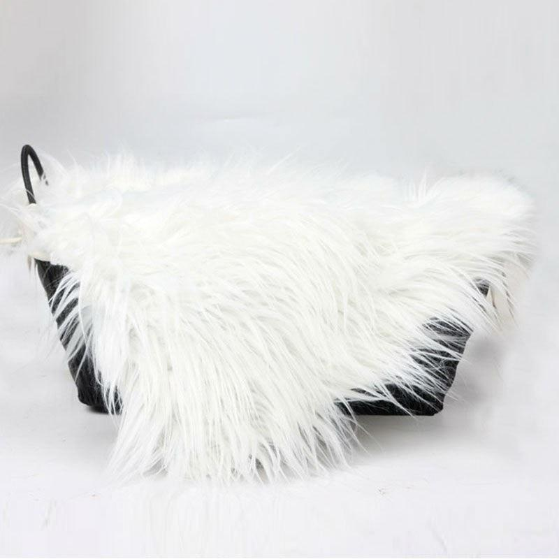 Baby Faux Fur Swaddle Blanket