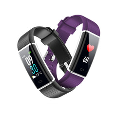 Plus Color HR Smart Bracelet Color Screen Pedometer Heart Rate Monitor