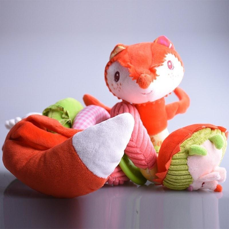 Bed Stroller Plush Fox Mobile