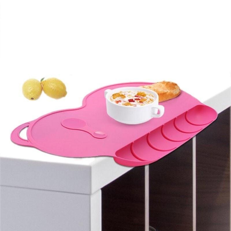 Baby Silicon Waterproof Placemat Set