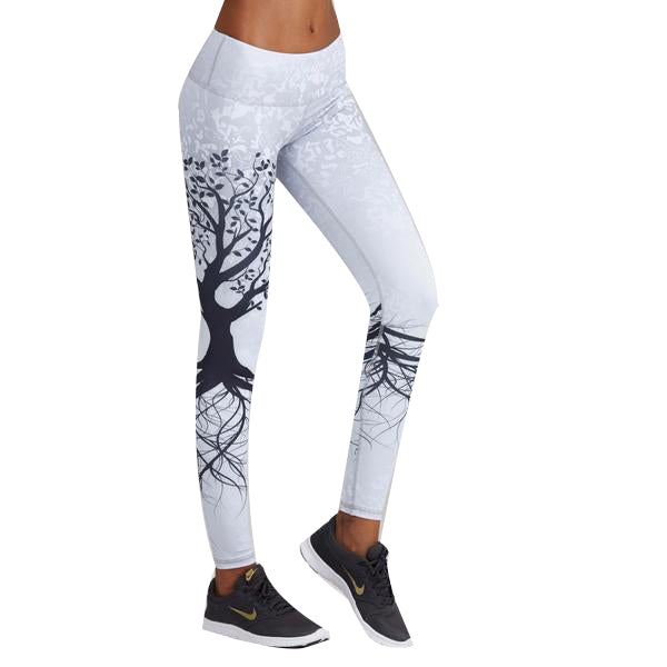 3D Zen Tree Fitness Women Leggings
