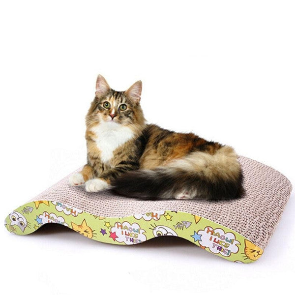 Corrugated Scratch Board Bed Mat Claws Care Toy For Cats