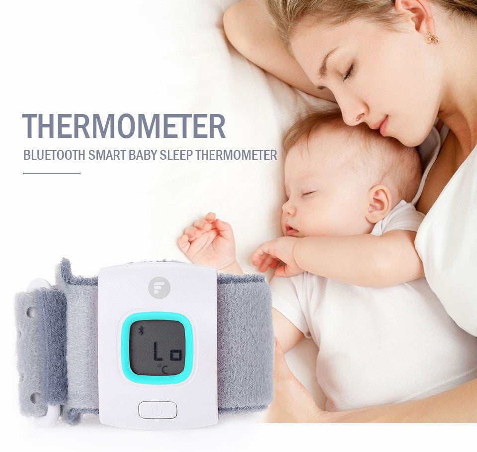 Children Intelligent Wearable Electronic Thermometer