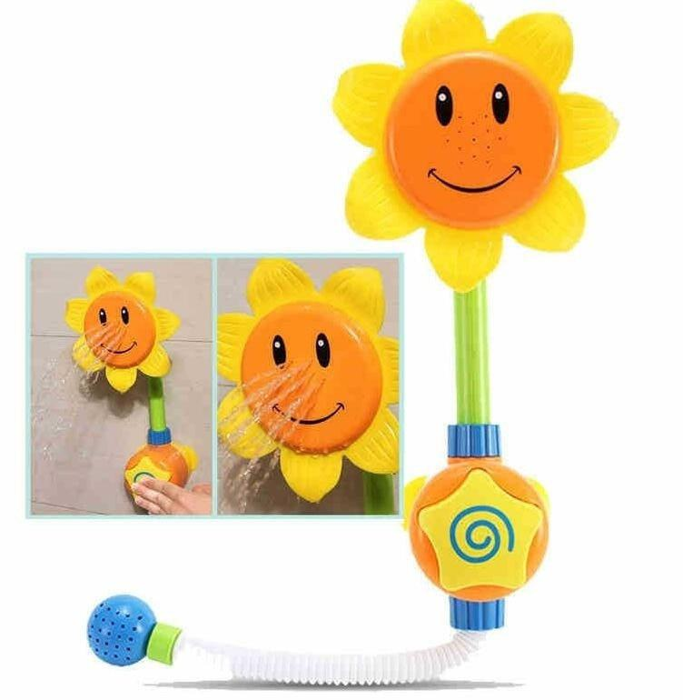 Sunflower Shower Faucet Bath Learning Toy