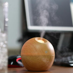 Wood Aromatherapy Essential Oil Diffuser