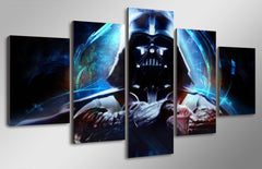 5 Panel Star Wars Canvas Poster Printed