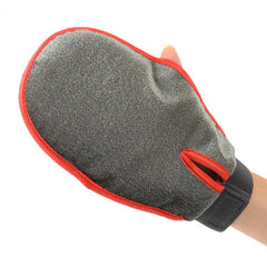 Fur Grooming Glove Massage Bath Mitt Brush