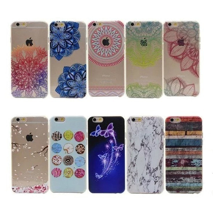 FREE * iPhone Case*  5/5s/6/6S/6Plus/6S Plus Fashion Ultra Slim Soft Back Cover