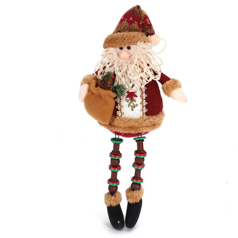 Santa Claus Snow Man Reindeer Doll Christmas Tree Hanging Ornaments