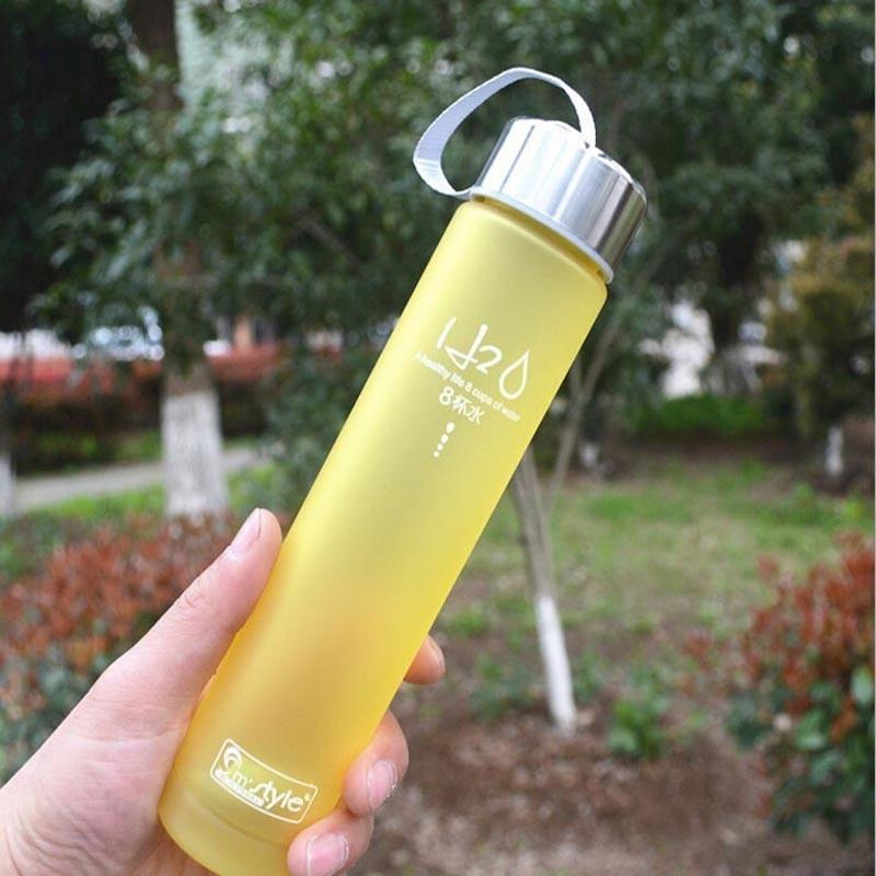 Colorful Portable Unbreakable Plastic Water Bottle
