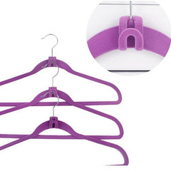FREE Mini Flocking Clothes Hanger Closet Organizer