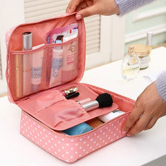 Neceser Makeup Bag - Cosmetic Organizer - Travel Washable Pouch