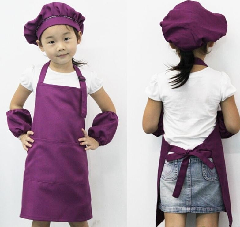 Colorful Kids Chef Apron