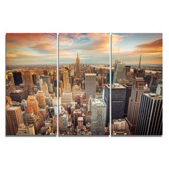 3 Panel New York City Picture Canvas Painting