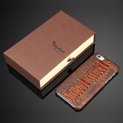 * iPhone Case*  6/ 6s/ 6Plus Luxury Texturized Genuine Leather Case