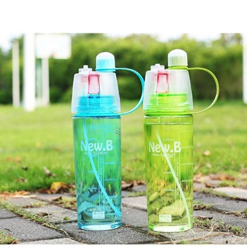 Large Capacity Sport Spray Water Bottle