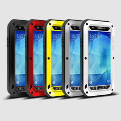* Samsung Case *  A8 SnowProof DirthProof Shockproof Aluminum Case Cover + Tempered Glass