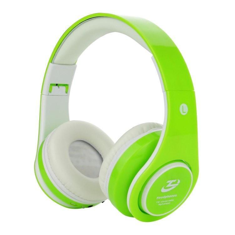Bluetooth Foldable Headset TF card with Mic Microphone